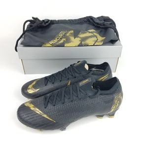 Nike Mercurial Vapor 12 Elite FG Black
